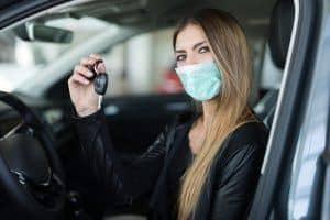 coronavirus clean car test drive